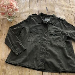 Lucky Brand Utility Jacket Size Medium